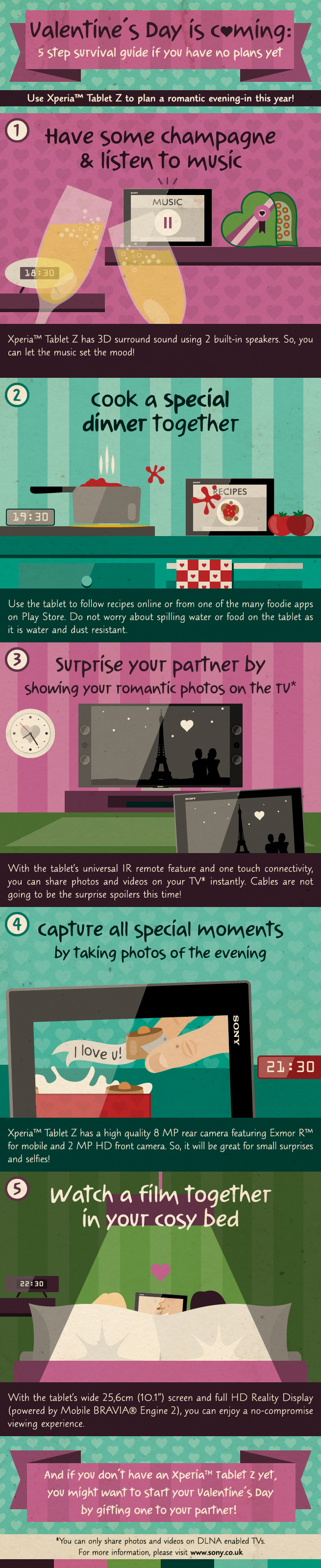 Valentine's Day survival guide - Infographic
